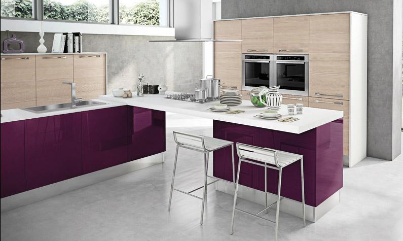 Cucine Lube » Cucine Lube Modello Noemi - Ispirazioni Design dell ...