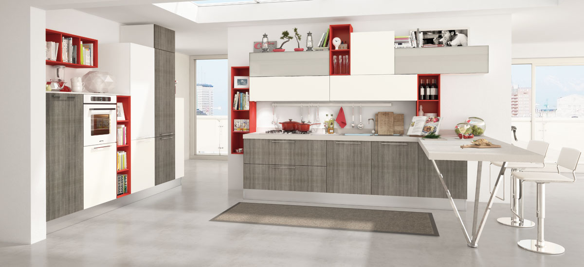 Awesome Cucina Noemi Lube Contemporary - Embercreative.us ...