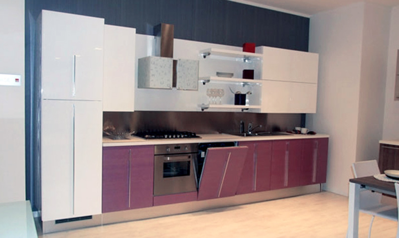 cucina moderna outlet - lube cucine mod. nilde - Lube Cucine Outlet