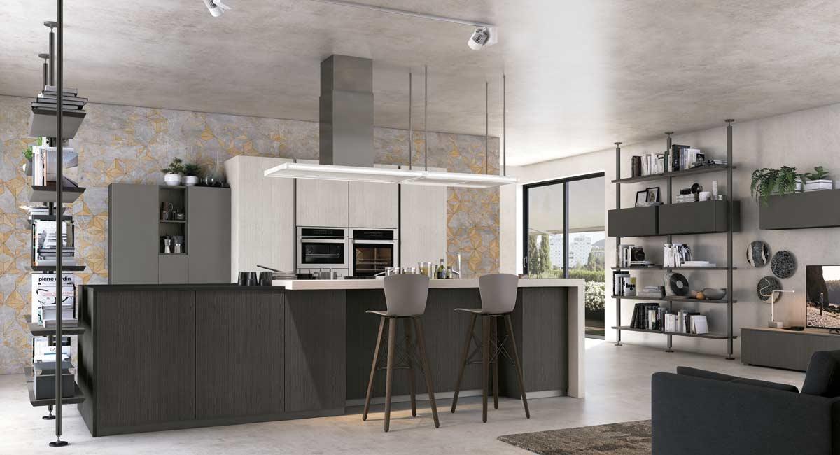 Cucina open space 4 cucinarredi