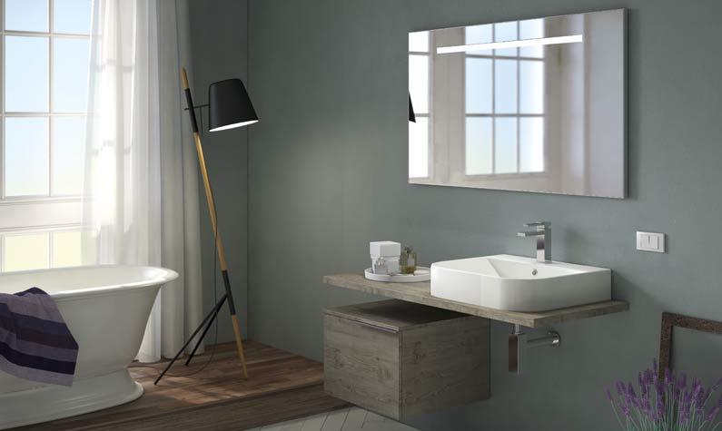 arredo bagno moderno - wall comp. w719 - Arredo Bagno Mondovi