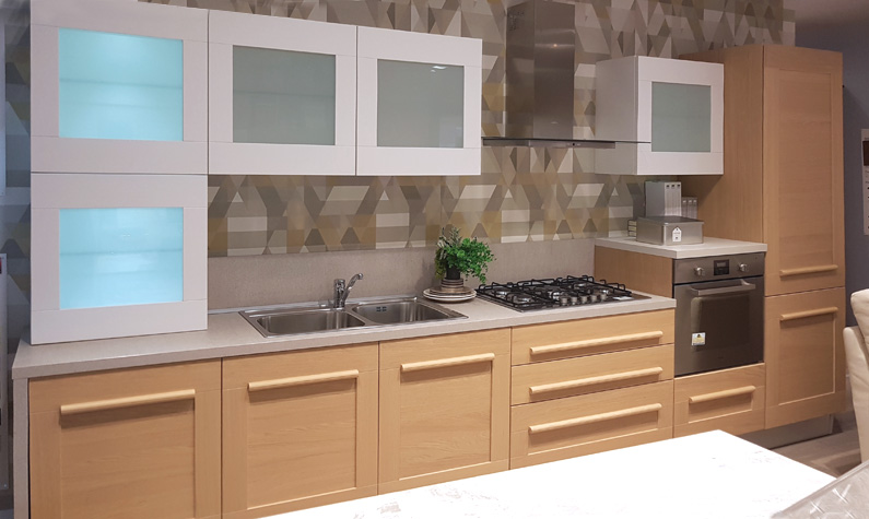 CUCINA MODERNA OUTLET - LUBE MOD. GALLERY in promo
